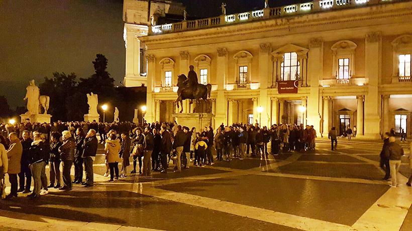 roma musei aperti di notte